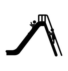 Isolated playground design vector