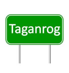 Taganrog road sign vector