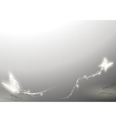 Shining Butterflies vector image