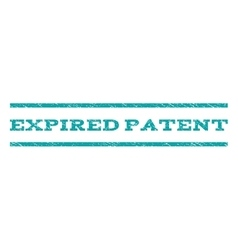 Expired patent watermark stamp vector