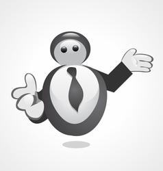 Business mascot vector