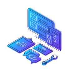 Coding isometric color vector