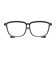 glasses isolated icon design vector image