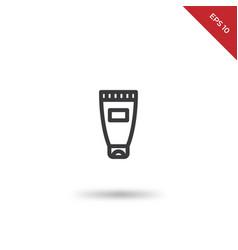 hand cream icon vector image