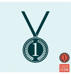 Medal icon isolated vector image