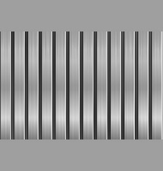 metal texture with vertical brushed planks vector image