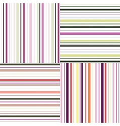 striped seamless abstract pattern template vector image