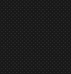 Black Polka Dot Seamless Pattern Background vector image vector image
