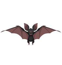 Funny bat smiling vector image vector image