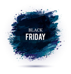 black-friday-dark vector image