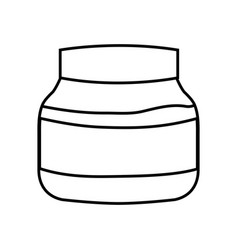 Chocolate bottle icon vector