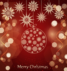 christmas vs vector image