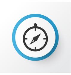 Compass icon symbol premium quality isolated vector