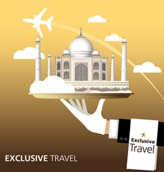 Exclusive India vector image vector image