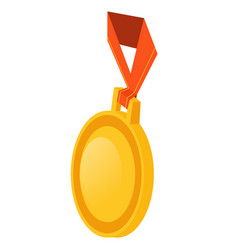 Infographics medal on a white background vector