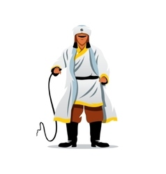 Khan of the Golden Horde Cartoon vector image