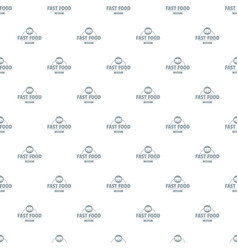 sandwich pattern seamless vector image