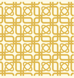 White and yellow kaleidoscope seamless pattern vector