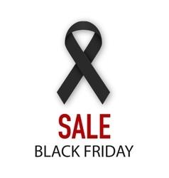 Black Friday discounts vector image