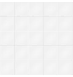 White brick wall pattern vector image