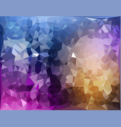 abstract pattern of geometric shapes colorful vector image