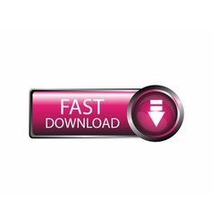 Fast download icon vector
