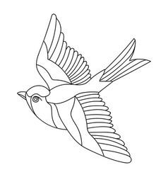 Song bird 4 vector