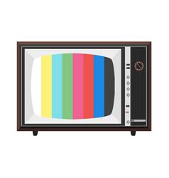 Soviet tv set vector