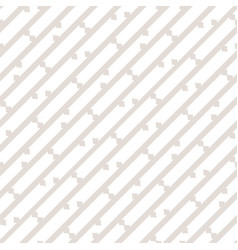 Subtle white and beige seamless diagonal pattern vector
