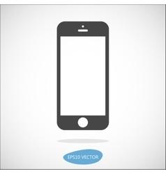 Smartphone solid icon vector image vector image