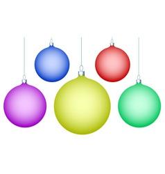 Cristmas balls vector