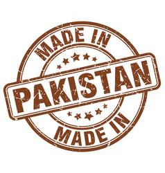 Made in pakistan vector