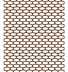 Pattern metal grille vector