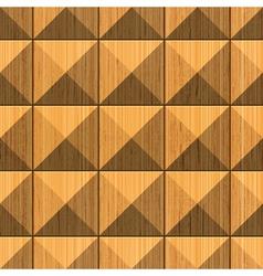 wooden pyramides vector image