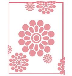 PinkFlowerBackground vector image