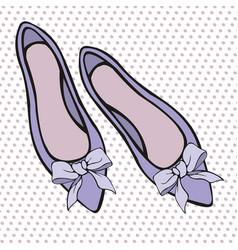 Shoes elements for design vector