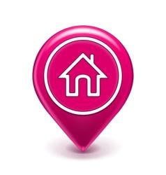 Home Location Icon vector image vector image