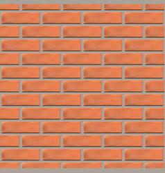 Seamless texture of a brick wall vector