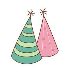 A cone hat vector