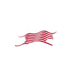 Bull logo icon vector