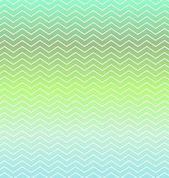 Green and blue chevron pattern background vector image