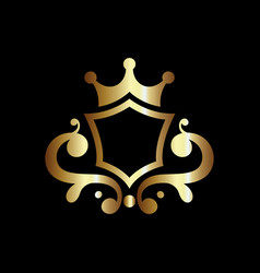 Luxury royal shield good for coat arms and vector