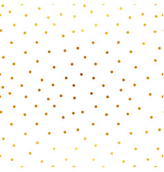 magic golden stars and snow seamless vector image