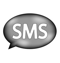 Sms sign icon vector
