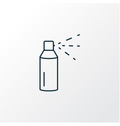 spray icon line symbol premium quality isolated vector image