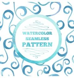 watercolor template vector image