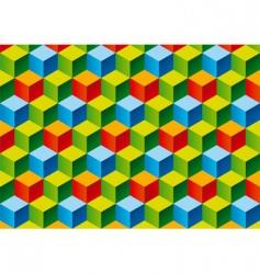 child's blocks vector image