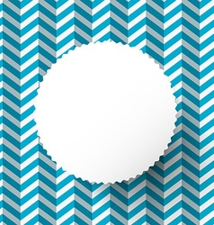 Retro Blue Paper Background with Circle Label vector image vector image