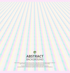 abstract of soft sweet stripe line pattern vector image