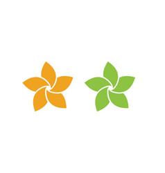 Beauty icon flowers design vector